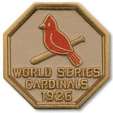 St Louis Cardinals 1926 World Series Champions Commemorative Embroidered Patch