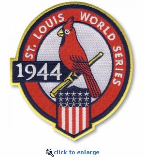 St Louis Cardinals 1944 World Series Champions Commemorative Embroidered Patch