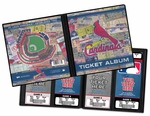 St Louis Cardinals Ticket Album