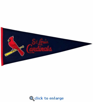 St Louis Cardinals Traditions Wool Pennant (13 x 32)