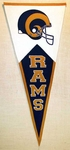 St Louis Rams Classic Wool Pennant (17.5 X 40.5)