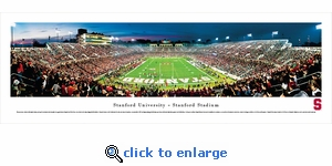 Stanford Cardinals Football - Panoramic Photo (13.5 x 40)