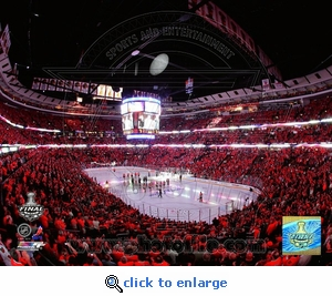 Stanley Cup 2010: Game 2: Opening Ceremony 8x10 Photo - Chicago Blackhawks