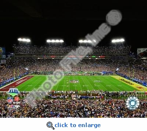 Super Bowl 43 Pittsburgh Steelers Raymond James Stadium 8x10 Photo