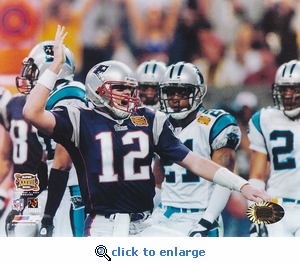 Super Bowl XXXVIII Tom Brady - New England Patriots
