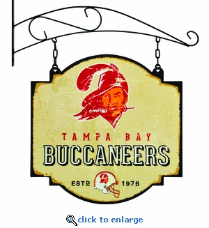 Tampa Bay Buccaneers 16 X 16 Metal Tavern / Pub Sign