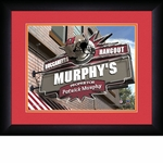 Tampa Bay Buccaneers Personalized Sports Room / Pub Print