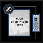 Tampa Bay Lightning 8x10 Photo Ticket Frame