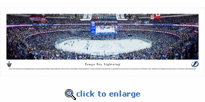 Tampa Bay Lightning - Panoramic Photo (13.5 x 40)