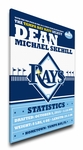 Tampa Bay Rays Personalized Canvas Birth Announcement - Baby Gift