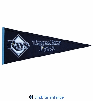 Tampa Bay Rays Traditions Wool Pennant (13 x 32)
