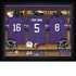 TCU Horned Frogs Personalized Football Locker Room Print