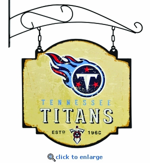 Tennessee Titans 16 X 16 Metal Tavern / Pub Sign
