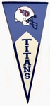 Tennessee Titans Classic Wool Pennant (17.5 X 40.5)