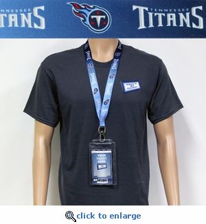 Tennessee Titans Lanyard Key Chain Bottle Opener and Ticket Holder