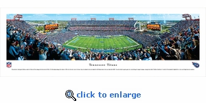 Tennessee Titans - Panoramic Photo (13.5 x 40)