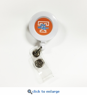 Tennessee Volunteers Lady Vols Retractable Ticket Badge Holder