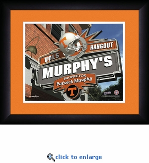 Tennessee Volunteers Personalized Sports Room / Pub Print