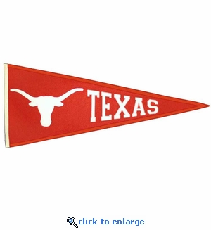 Texas Longhorns Traditions Wool Pennant (13 X 32)