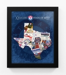 Texas Rangers State of Mind Framed Print