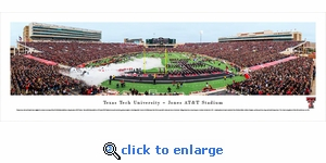 Texas Tech Red Raiders Football - Panoramic Photo (13.5 x 40)
