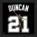 Tim Duncan, Spurs UniFrame 20x20