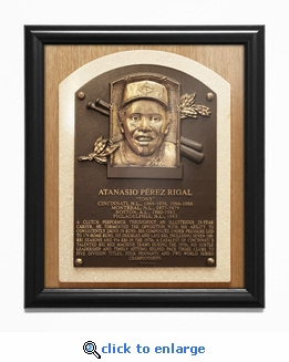 Tony Perez Baseball Hall of Fame Plaque Framed Print - Cincinnati Reds