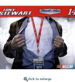 Tony Stewart NASCAR Lanyard and Ticket Holder