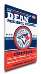 Toronto Blue Jays Personalized Canvas Birth Announcement - Baby Gift