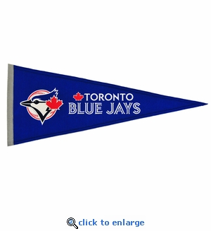 Toronto Blue Jays Traditions Wool Pennant (13 x 32)