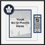 Toronto Maple Leafs 8x10 Photo Ticket Frame
