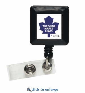 Toronto Maple Leafs Retractable Ticket Badge Holder