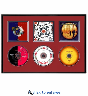 Three CD and Cover Art Display Frame