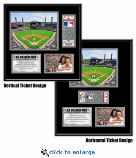 US Cellular Field Ticket Frame - White Sox