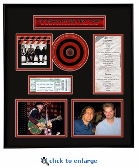 U2 Concert Ticket Frame