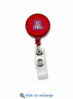 University of Arizona Wildcats Retractable Ticket Badge Holder