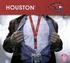 University of Houston Cougars NCAA Lanyard Key Chain and Ticket Holder - Red