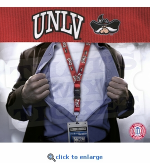 UNLV Rebels NCAA Lanyard Key Chain and Ticket Holder