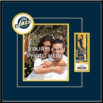 Utah Jazz 8x10 Photo Ticket Frame