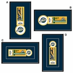 Utah Jazz Single Ticket Frame