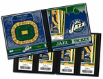 Utah Jazz Ticket Album
