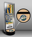Utah Jazz Ticket Display Stand
