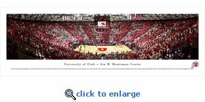 Utah Utes Basketball - Panoramic Photo (13.5 x 40)