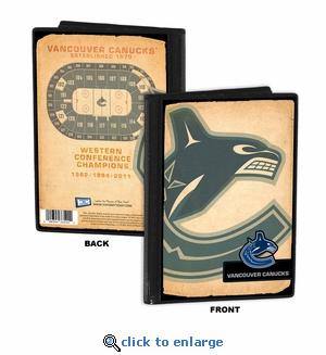 Vancouver Canucks 4x6 Photo Album / Brag Book