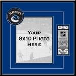 Vancouver Canucks 8x10 Photo Ticket Frame