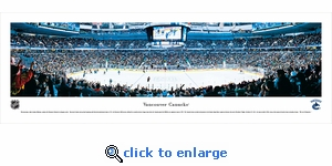 Vancouver Canucks - Panoramic Photo (13.5 x 40)