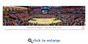 Virginia Cavaliers Basketball - Panoramic Photo (13.5 x 40)