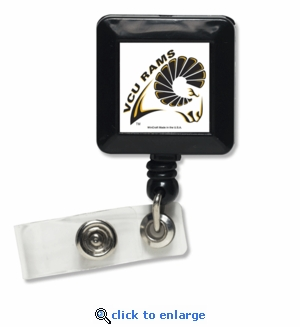 Virginia Commonwealth Rams Retractable Ticket Badge Holder