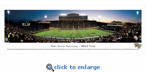 Wake Forest Demon Deacons Football - 50 Yard Line - Panoramic Photo (13.5 x 40)