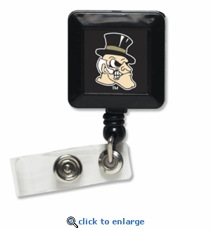Wake Forest Demon Deacons Retractable Ticket Badge Holder